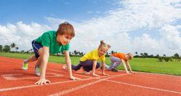 Crianças que praticam corrida competindo – é indicado?