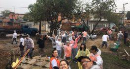 Profissionais do Sabará ajudam a revitalizar praça