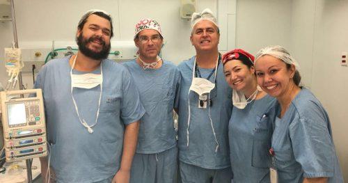 Equipe do Sabará realiza cirurgia inédita