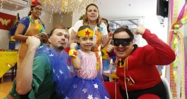 Sabará promove festa de Carnaval para crianças hospitalizadas