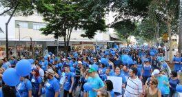 PENSI participa de caminhada em prol da conscientização do autismo