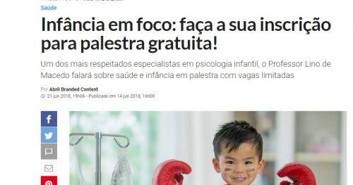 Sabará inicia ciclo de palestras em parceria com Veja São Paulo
