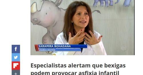 Dra. Saramira Bohadana alerta sobre perigo das bexigas