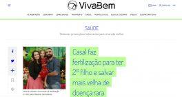 UOL conta a história de paciente diagnosticada no Sabará com condição rara