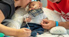 Após cinco meses do seu nascimento, Antônio finalmente vai conhecer sua casa
