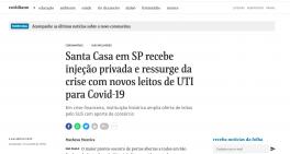 Sabará faz doação para Santa Casa de São Paulo