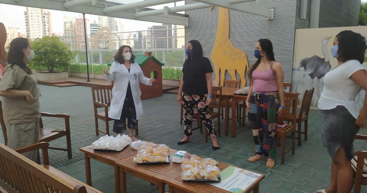 Projeto Encontro Terapêutico da UTI visa humanizar a relação com as mães e acompanhantes