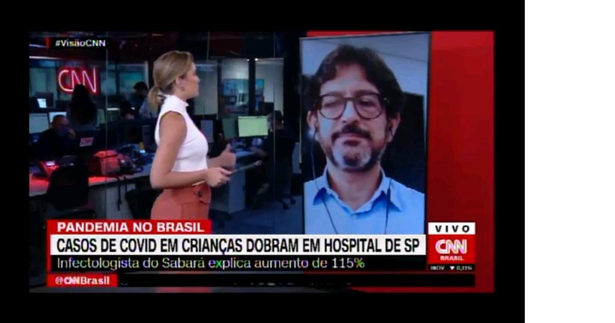 Especialistas do Sabará Hospital Infantil falam sobre aumento de casos de Covid-19