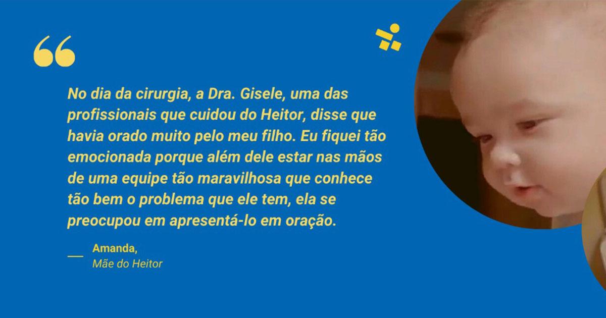 Conheça a história de Heitor – um bebê gemelar que nasceu com uma extrofia vesical e hoje é acompanhado pela equipe do Sabará