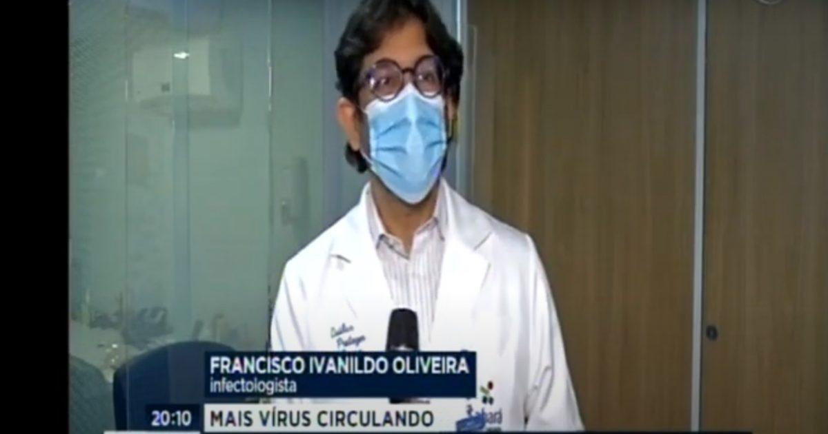 Dr. Francisco Ivanildo fala sobre doenças respiratórias no Jornal da Band