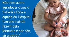 Muito carinho e afeto – conheça a história da pequena Manuela