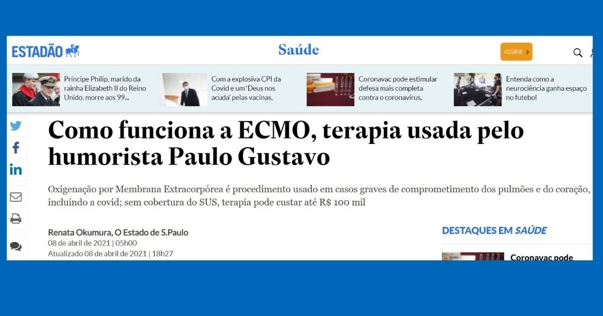 Especialista em ECMO do Sabará explica sobre a utilização da técnica